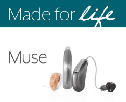 Starkey Muse from Hearing First brings a new generation of power and precision to hearing aid wearers, making conversation clearer in noisy environments, and music more natural.